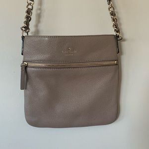 Nude Pebbled Leather Kate Spade Crossbody